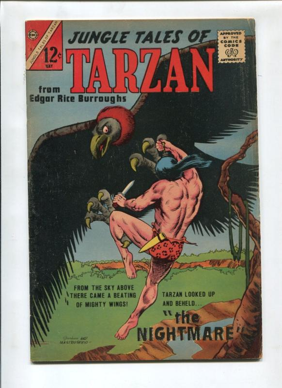 JUNGLE TALES OF TARZAN #3  1965-CHARLTON-SAM GLANZMAN-VG