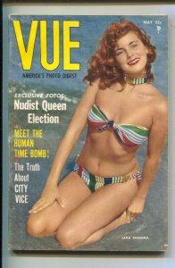 Vue 4/1955-Lana Bashama photo cover-Gypsy Jamboree-Cheesecake pix-swimsuits-s...