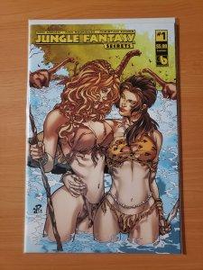 Jungle Fantasy Secrets #1 Luscious Variant Cover