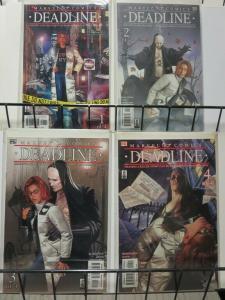 DEADLINE (2002) 1-4 THE SET! Daily Bugle Kat Farrell