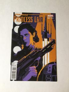 Princess Leia 3 Star Wars Variant Edition Nm Near Mint