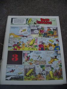 BUCK ROGERS #3-ITALIAN SUNDAY STRIP REPRINTS-CALKINS FN