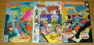 Secrets of the Legion of Super-Heroes #1-3 FN complete series - superboy LOSH 2