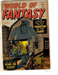 World Of Fantasy # 9 VG/FN Comic Book Suspense Atlas (Marvel) Phantom Farm JL17