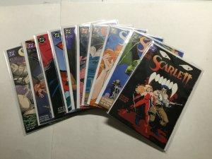 Scarlett 1-14 Complete Series Lot Run Set Near Mint Nm Dc Comics