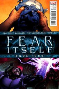 Fear Itself #4, NM (Stock photo)