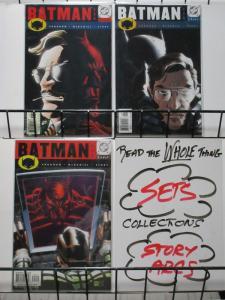 BATMAN 588-590  CLOSE BEFORE STRIKING