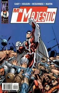 Mr. Majestic #2 VF/NM; WildStorm | save on shipping - details inside
