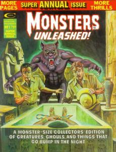 Monsters Unleashed Annual #1 VG; Marvel | low grade comic - save on shipping - d