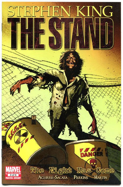 STEPHEN KING : STAND - The NIGHT HAS COME #3, 2011, VF/NM, Virus, more in store