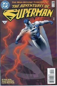 Adventures of Superman (1987 series) #549, NM (Stock photo)