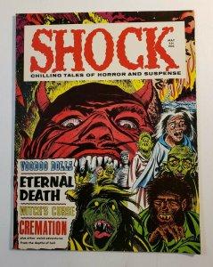 Shock Chilling Tales Of Horror And Suspense Volume 1 #1 VF- 1969 Horror Magazine