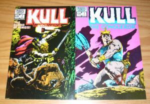 Kull the Conqueror vol. 2 #1-2 FN/VF complete series - marvel comics 1983 set