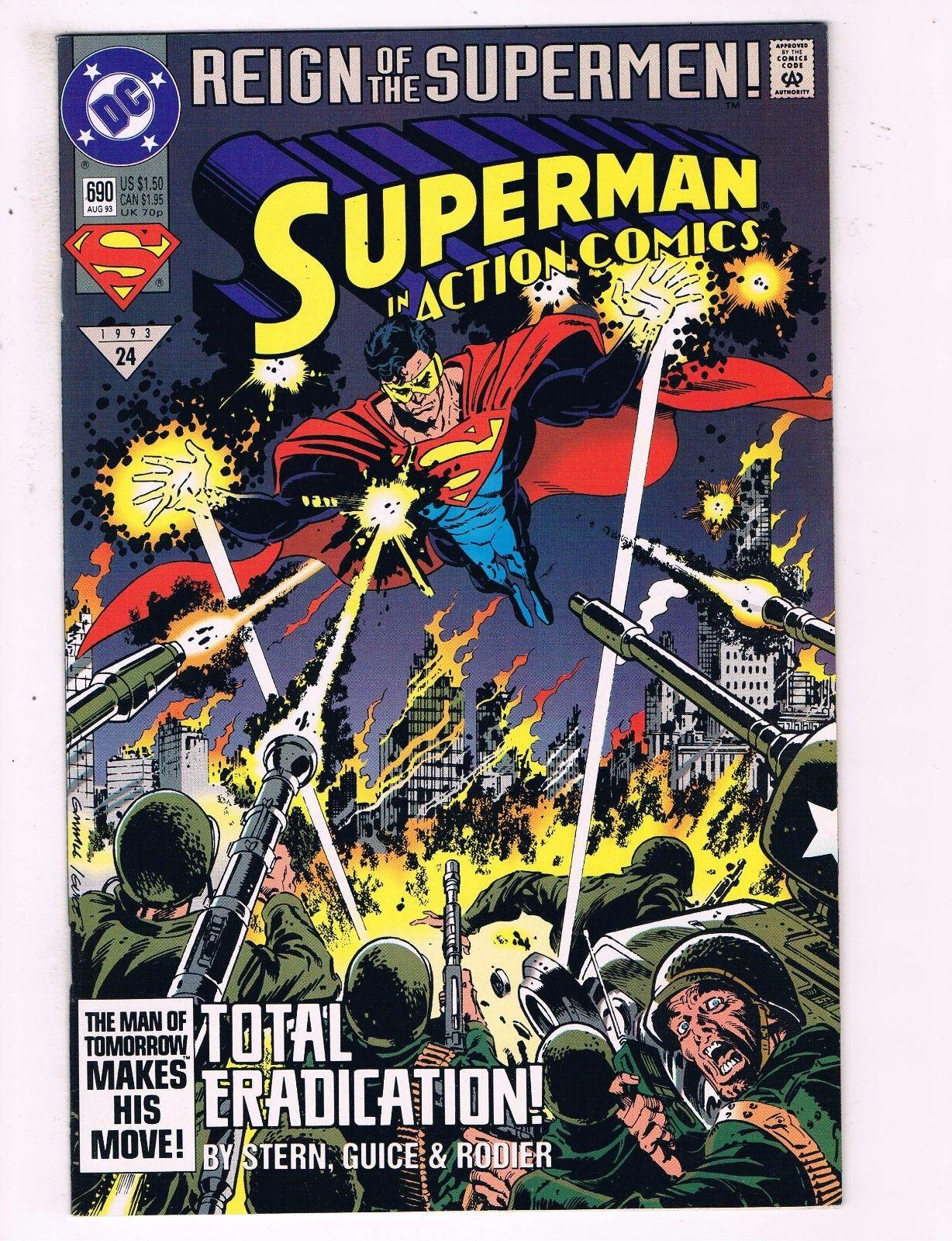 Superman #690 VF DC Comics Reign Of The Supermen Comic Book
