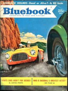 BLUE BOOK PULP-MAY 1953-G/VG-BIGGS COVER-MOORE-MARY SELLARS-THEISSEN VG/FN