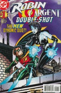 Robin/Argent Double-Shot #1 VF; DC | save on shipping - details inside