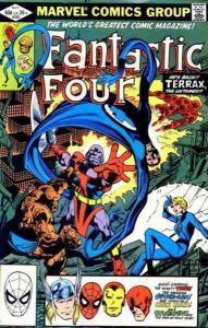 Fantastic Four (1961 series) #242, VF+ (Stock photo)