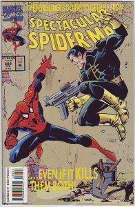 Spider-Man, Peter Parker Spectacular #209 (Feb-94) NM+ Super-High-Grade Spide...