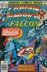 Marvel CAPTAIN AMERICA (1968 Series) #221 VF
