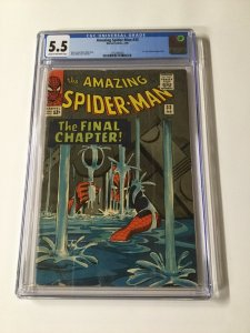 Amazing Spider-Man 33 CGC 5.5 Cr/Ow Silver Age Marvel