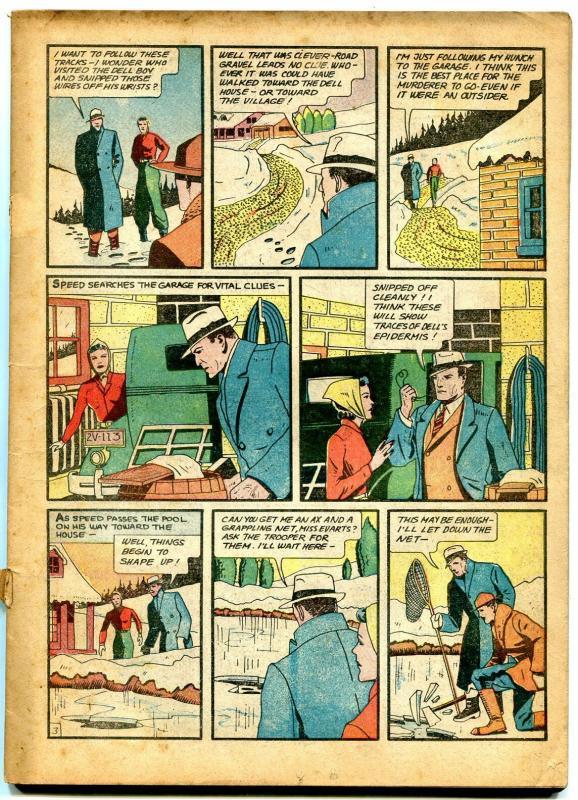 Detective Comics #25 1939- Crimson Avenger- Fu Manchu- Bob Kane Incomplete