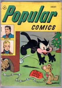 POPULAR COMICS #131-1947-FELIX THE CAT-GOLDEN AGE COMIC-VG VG