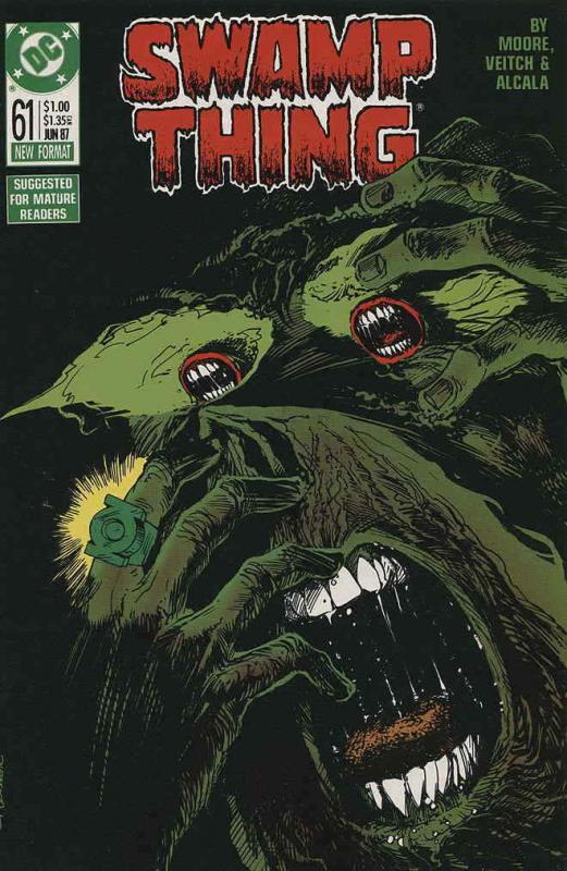 Swamp Thing (2nd Series) #61 FN; DC | save on shipping - details inside