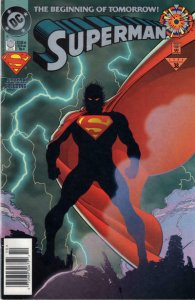 Superman (2nd Series) #0 (Newsstand) VG; DC   low grade comic - save on shipping