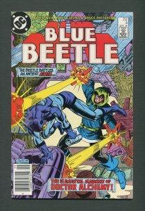 Blue Beetle #4  / 9.2 NM-  /  Newsstand / September 1986