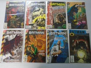 Batman comic lot 15 different from #550-594 8.0 VF (1998-2001)