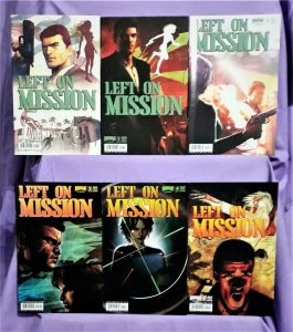 Francesco Francavilla LEFT ON MISSION #1 - 5 With Both #1 Covers (Boom!, 2007)!