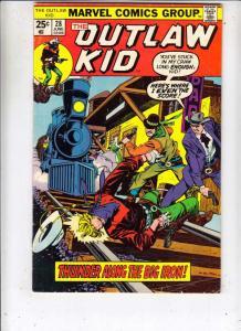 Outlaw Kid #28 (Jun-75) VG/FN+ Mid-Grade Outlaw Kid
