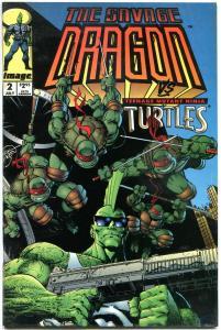 SAVAGE DRAGON #1 2 3 4, 6, VF+ 1993, Erik Larsen, TMNT, 5 issues, more in store