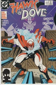 Hawk and Dove(1988)# 1,2,3,5 Deadpool Creator, Rob Liefeld's 1st Work !