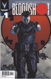 Bloodshot #1 Variant Cover