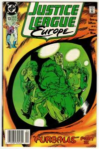 Justice League Europe #13 (DC, 1990) FN/VF
