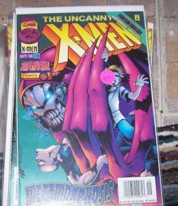 Uncanny X-Men #336 (Sep 1996, Marvel) onslaught ptase 2  franklin xavier avenger