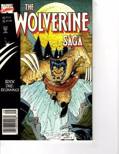Lot Of 2 Marvel Comic Books Wolverine Save Book One and Book Two ON3
