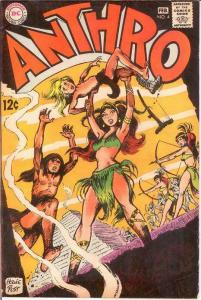 ANTHRO (1968) 4 VG+  Jan.-Feb. 1969 COMICS BOOK