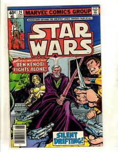 8 Star Wars Marvel Comic Books # 24 25 41 43 44 45 46 49 Jedi R2D2 Solo Han WS10
