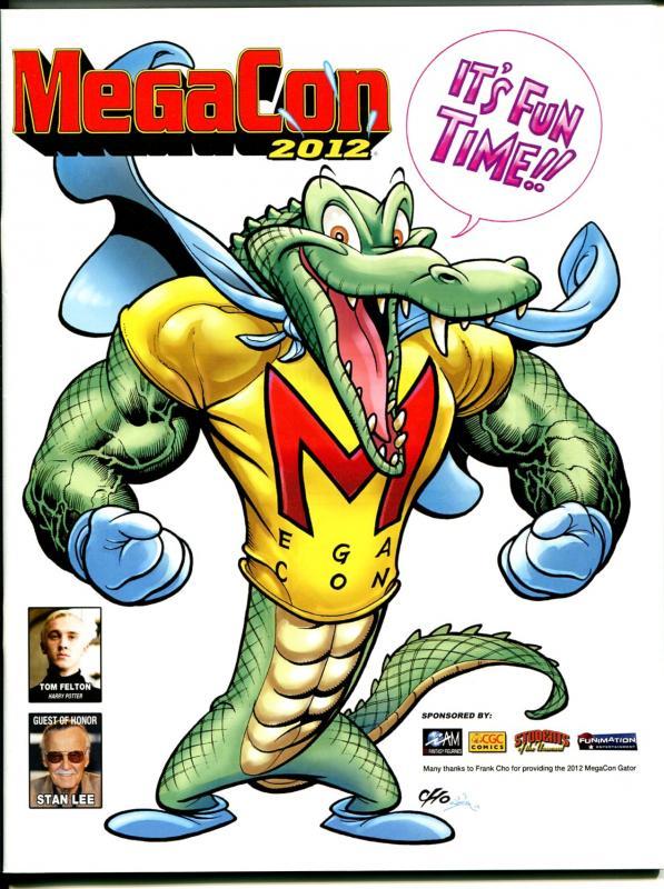 MegaCon 2012-Stan Lee-floor layout poster-NM