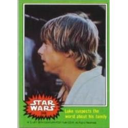 1977 Topps Star Wars LUKE SUSPECTS THE WORST ABOUT HIS FAMILY #248 EX/MT
