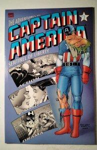Adventures of Captain America #3 (1991) Marvel Comic Book J757