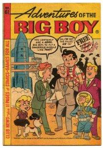 Adventures Of The Big Boy #61 1961- Michigan edition-Rocket cover