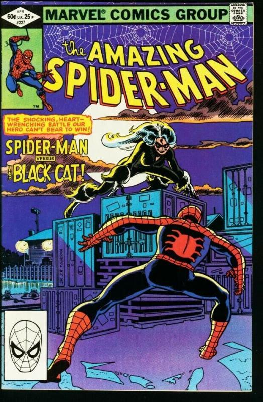 AMAZING SPIDER-MAN #227-1982-MARVEL VF