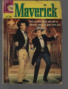 Maverick #8 (Dell, 1960) G+