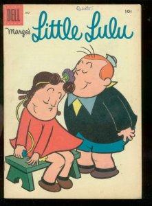 MARGE'S LITTLE LULU #97 1956-JOHN STANLEY ART-DELL COM. VG/FN