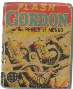 Flash Gordon Perils of Mongo ORIGINAL Vintage 1940 Whitman Big Little Book