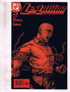 Lot of 4 Lex Luthor Man of Steel DC Comic Books #2 3 4 5 AK8