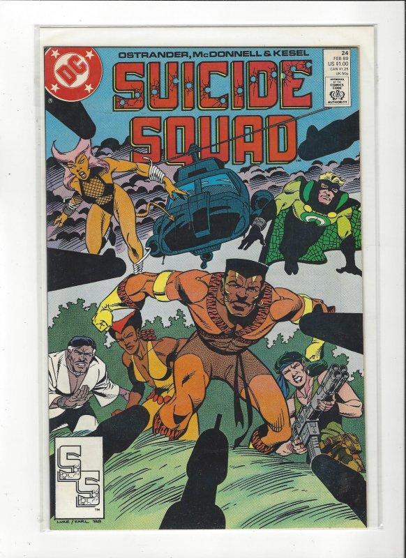 Suicide Squad #24 1989 DC Comics Copper Age  NM